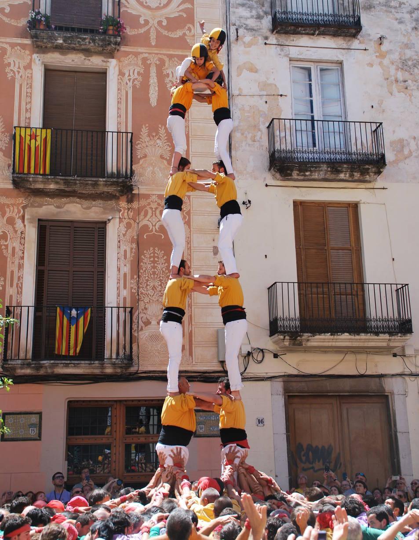 2de7 dels Bordegassos de Vilanova a la diada de La Grallada de Vilanova.