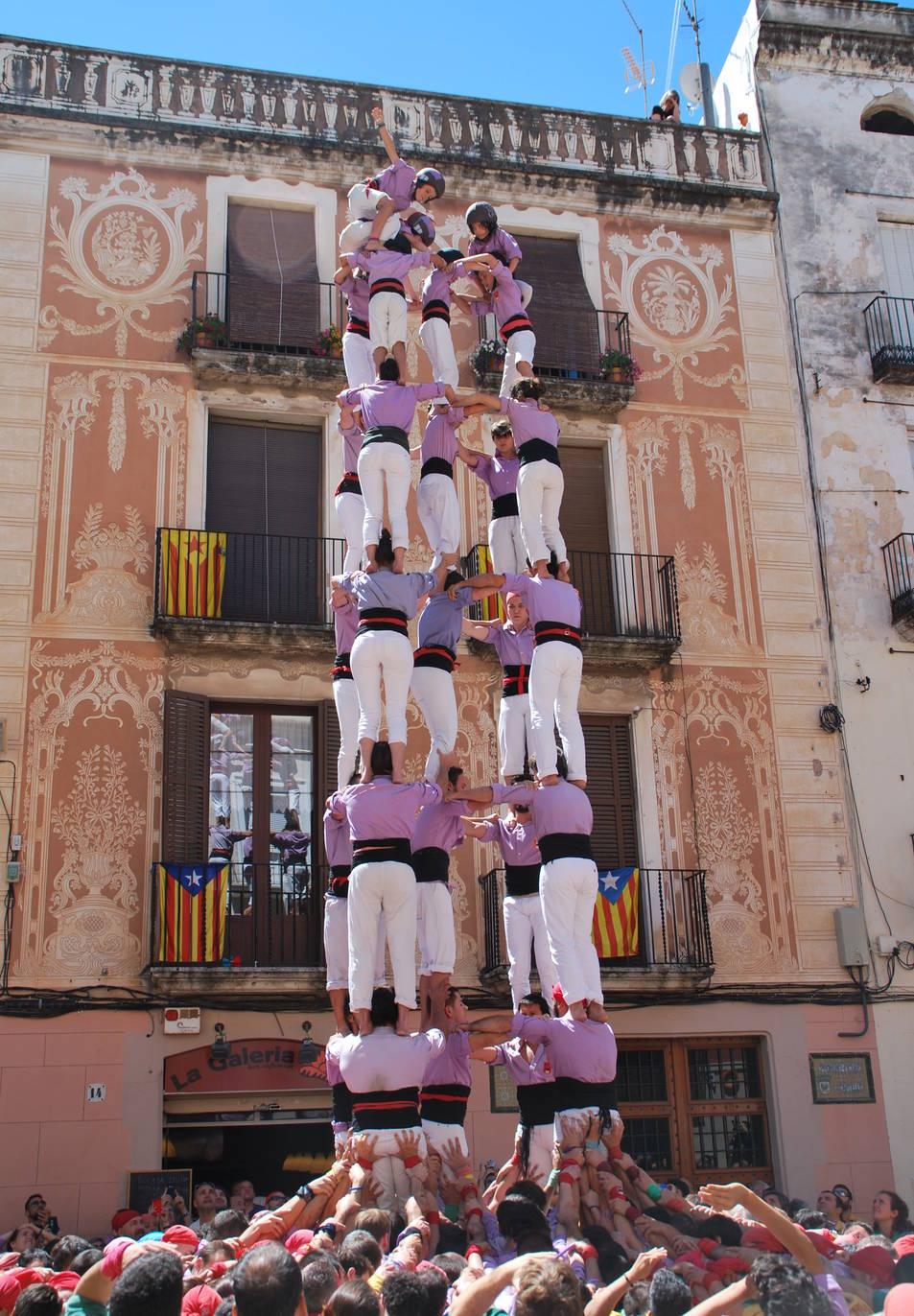 5de8 de la Colla Jove de Tarragona a Vilanova.