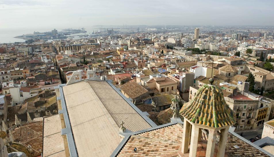 Imatge d'arxiu d'una vista panoràmica de la ciutat de Tarragona.