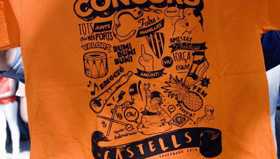 El Concurs de Castells ja té samarreta pròpia.