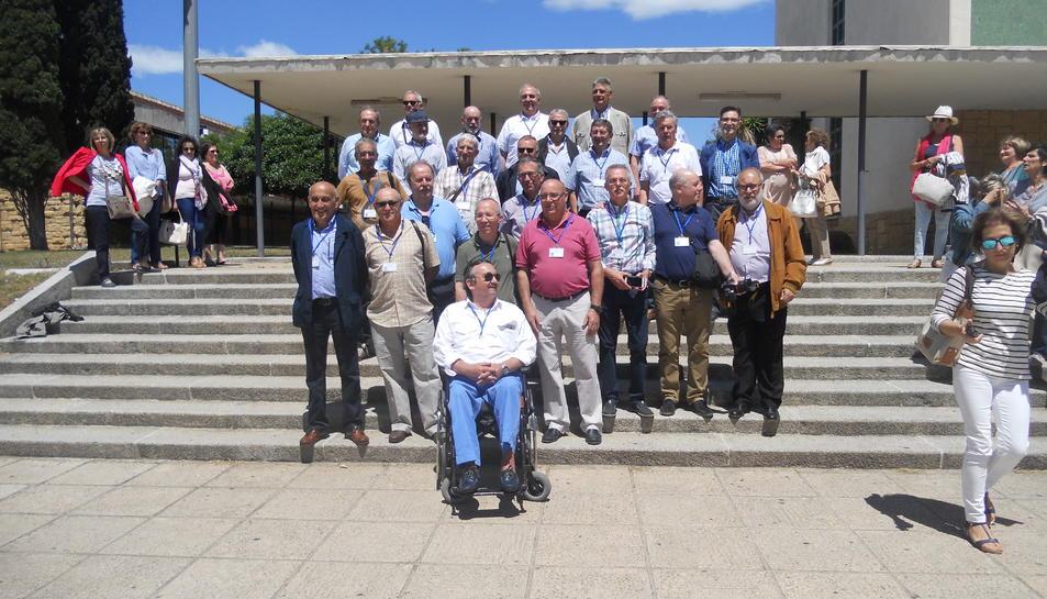 Trobada alumnes promoció 1974 Enginiers Técnics de la Universitat Laboral de Tarragona