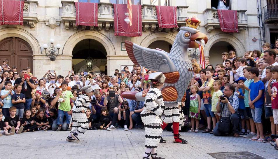 Presentación del Águila pequeña de Valls