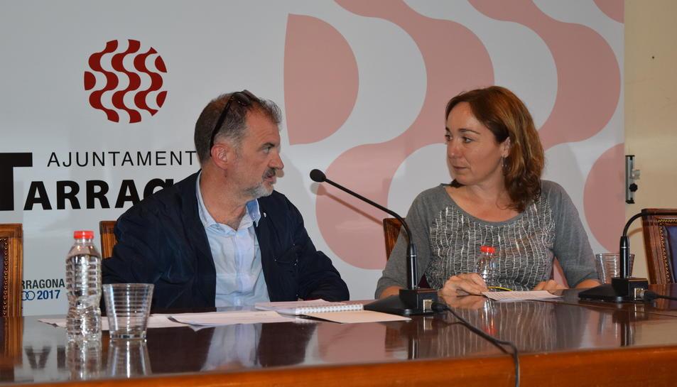 Presentació del projecte a la Sala d'Actes de l'AJuntament.