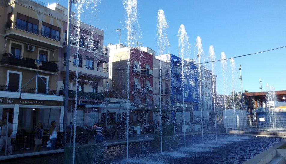 El Port de Tarragona ha fet una gran inversió per renovar les fonts i els jardins aquàtics.