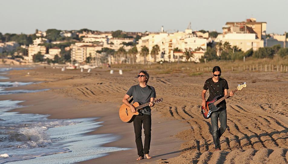 Imatge promocional del duet torrenc.