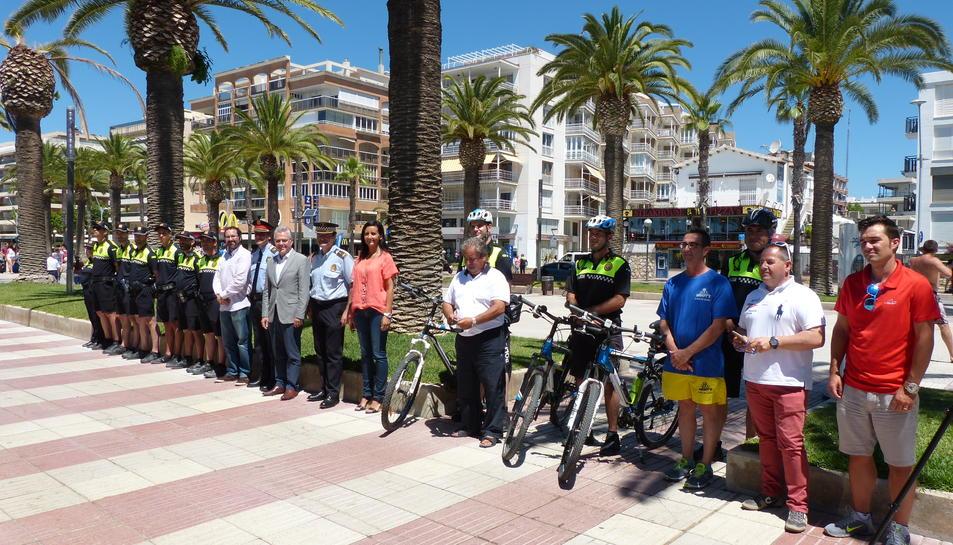 Salou obre la comissaria de platja de la policia al passeig Jaume I