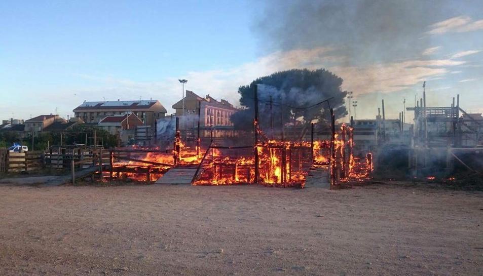 Imatge de la plaça cremant.
