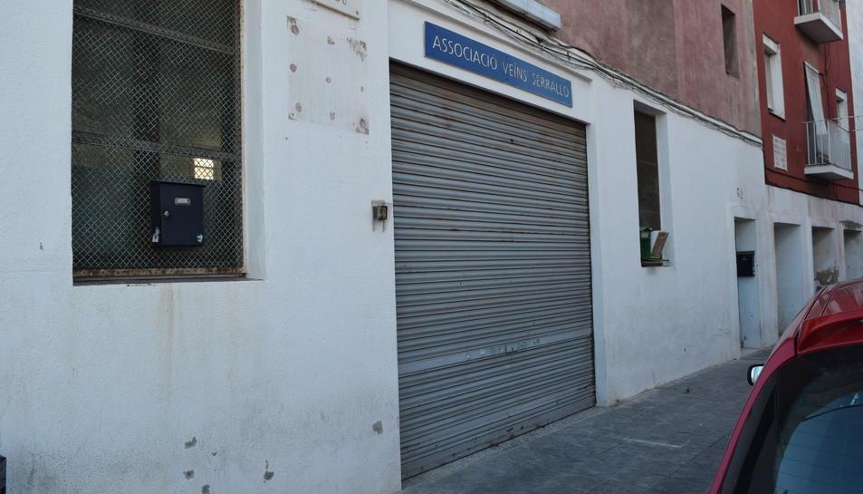 Imatge del nou local de la Llar de l'Avi Pescador, situat al carrer Salou.
