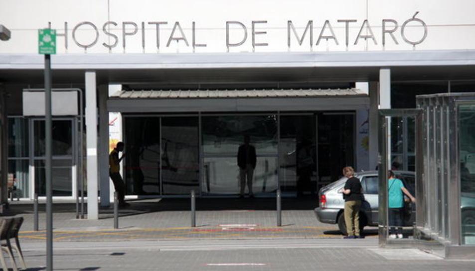 El menor va ingressar a l'Hospital de Mataró el passat diumenge 19 de juny.