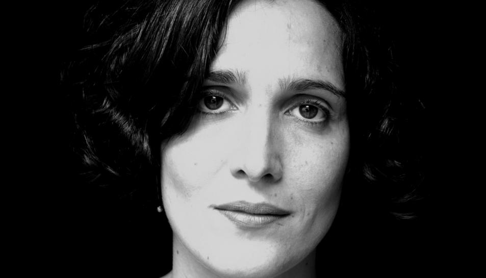 Mireia Chalamanch, l'actriu que participa en l'espectacle a Tarragona.