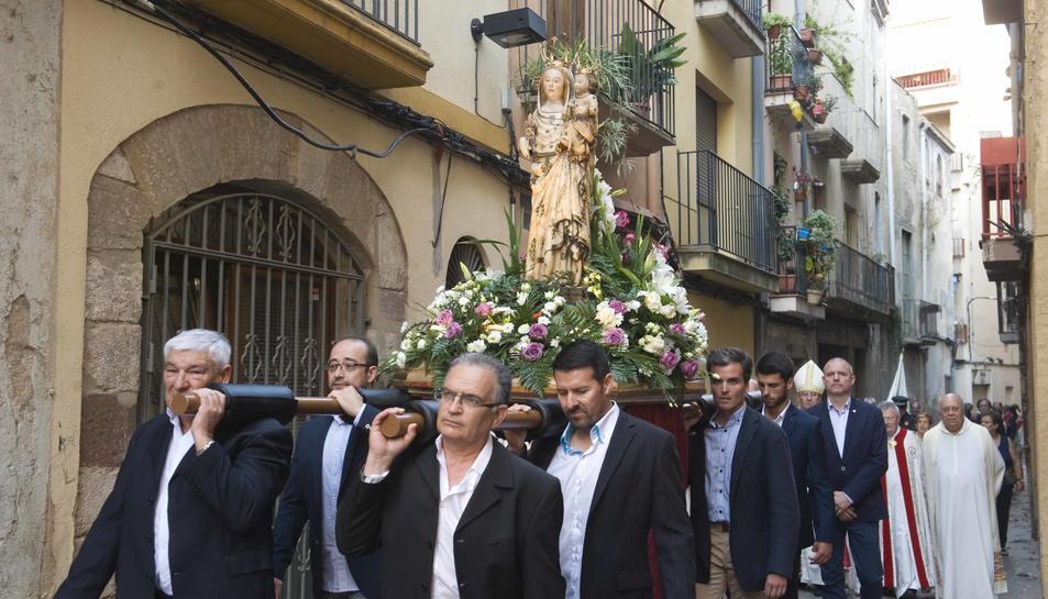 Valls celebra els 650 anys de la imatge de la Mare de Déu del Lledó