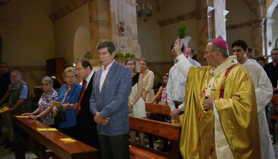 L'Arquebisbe de Tarragona, Jaume Pujol, va presidir l'acte.