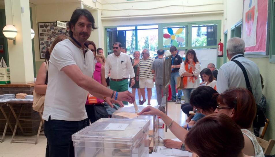 Sergio del Campo, candidat de Ciutadans al Congrés.