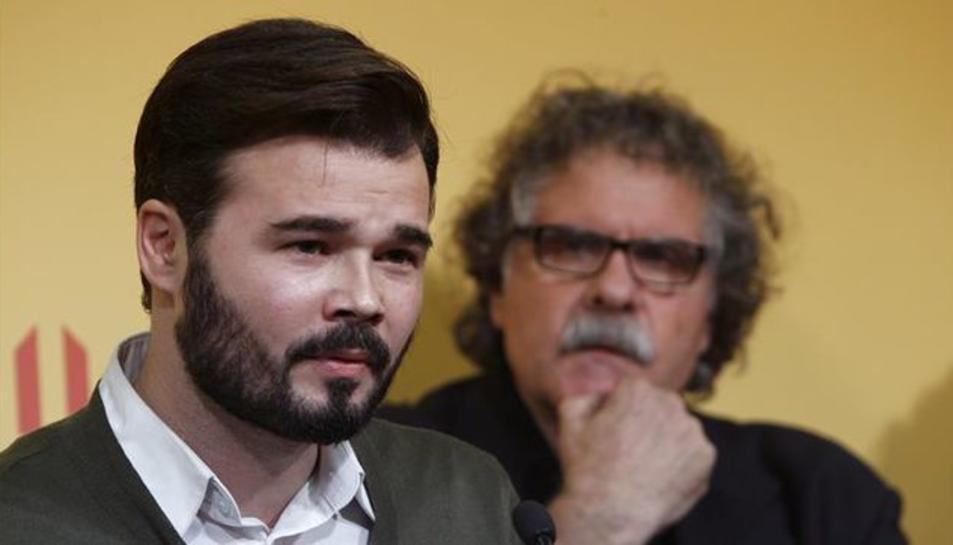 Rufián ha assegurat que l'únic camí és la República Catalana.