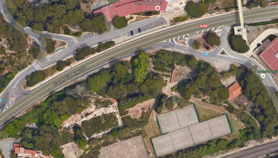 Demanen que les pistes de tennis de la Residencial siguin aparcament