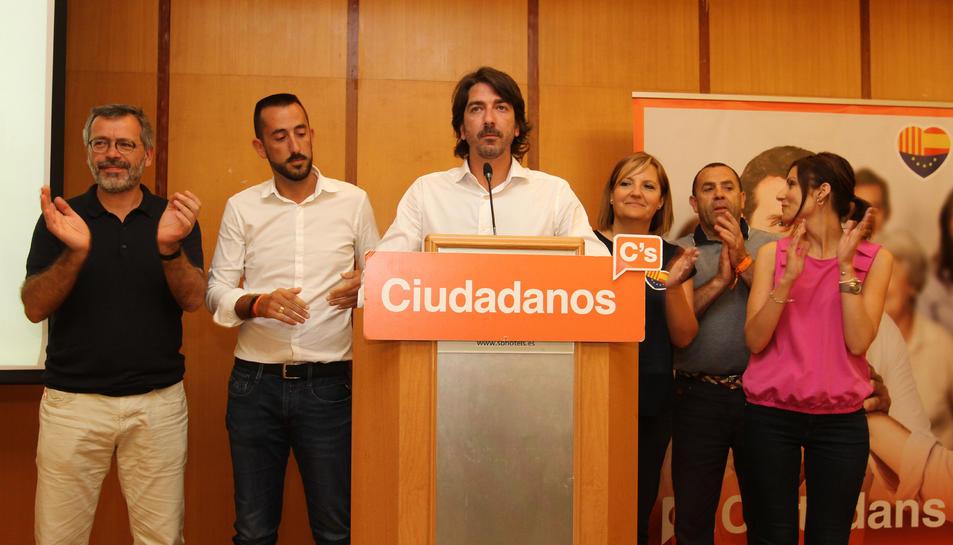 Sergio del Campo, candidat de Ciutadans al Congrés dels Diputats.