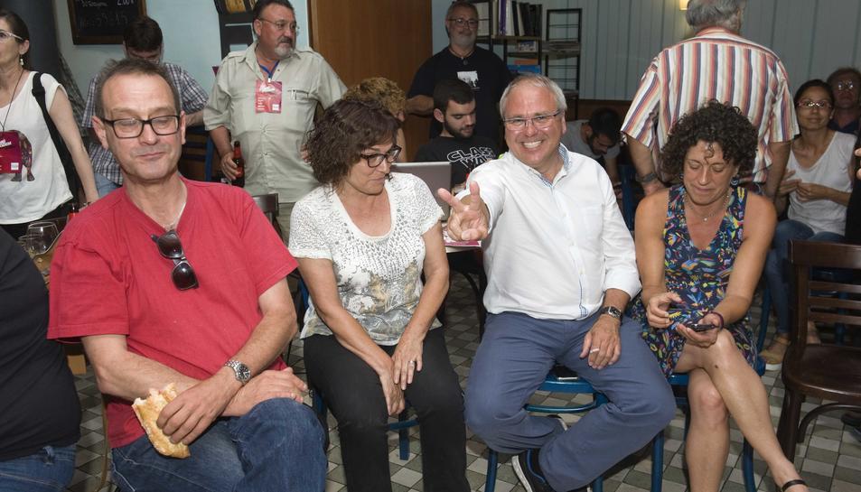Fèlix Alonso, candidat d'En Comú Podem al Congrés dels Diputats.
