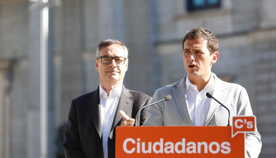 Rivera reclama una nova llei electoral