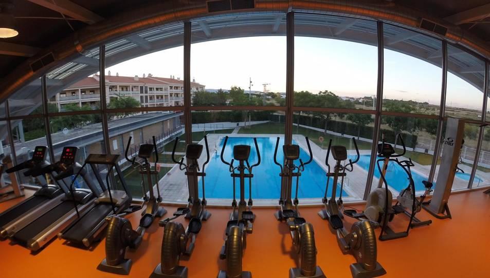 L'ampliació del gimnàs del poliesportiu de la Canonja ja està en marxa