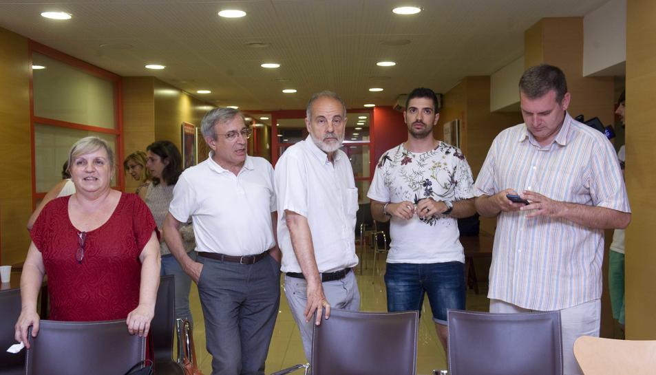 Joan Ruiz, candidat del PSC al Congrés dels Diputats.