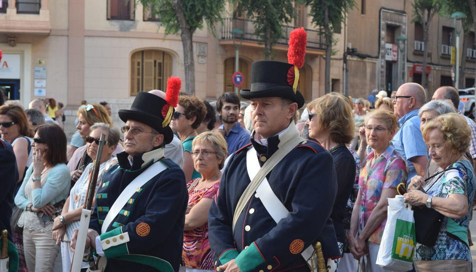 Acte de record i homenatge als defensors de Tarragona durant el Setge de 1811