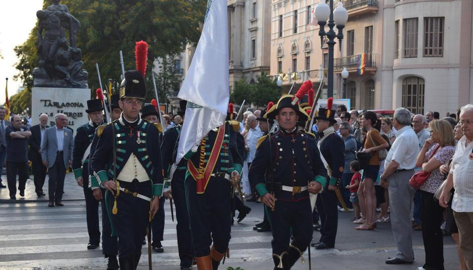 Tarragona homenatja els defensors de la ciutat durant el setge de 1811
