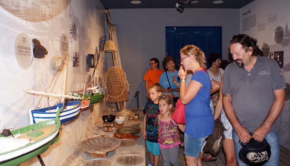 La història pesquera de Calafell al nou centre d'interpretació