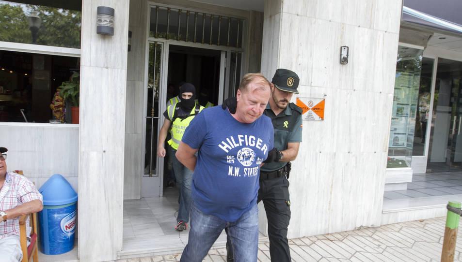 La Guàrdia Civil escorcolla un nou domicili a Salou en el marc de l'operació contra la màfia russa