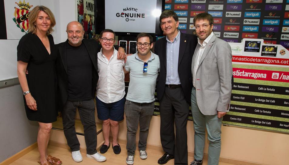 El Nou Estadi acollirà una Champions League de futbolistes amb jugadors amb Síndrome de Down