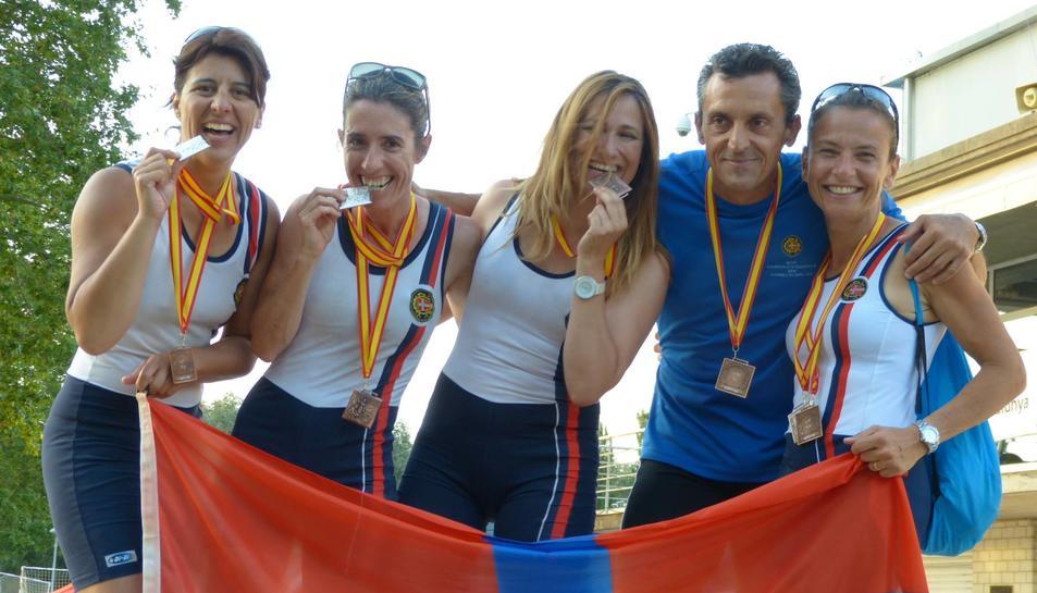 El RCN Tarragona torna carregat de medalles del Nacional, a Banyoles