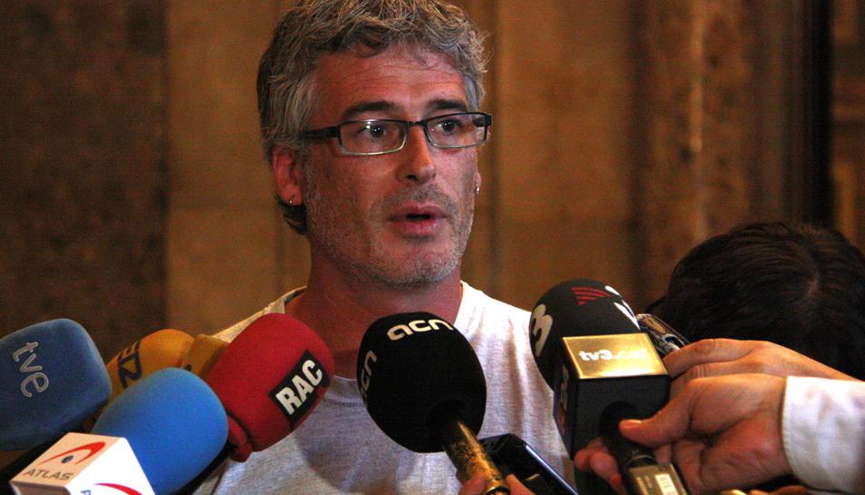 La CUP demana al Govern que anteposi la sobirania abans que el projecte del CRT