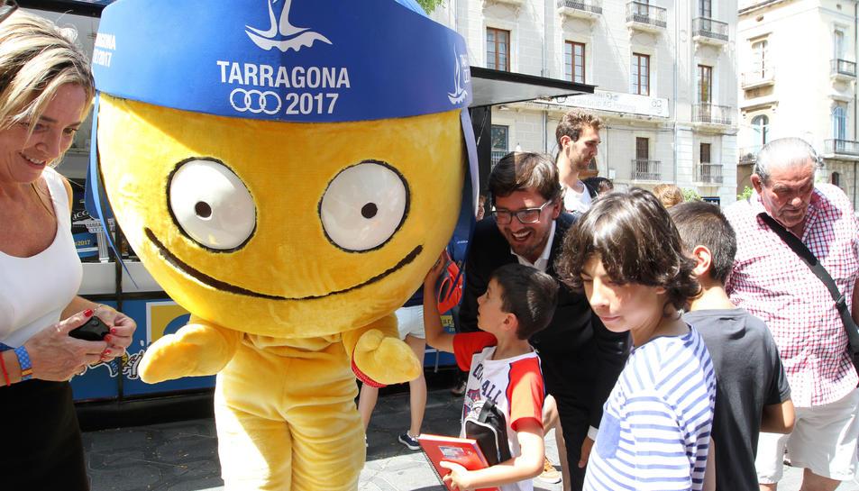 El compte enrere pels Jocs Mediterranis ja està en marxa