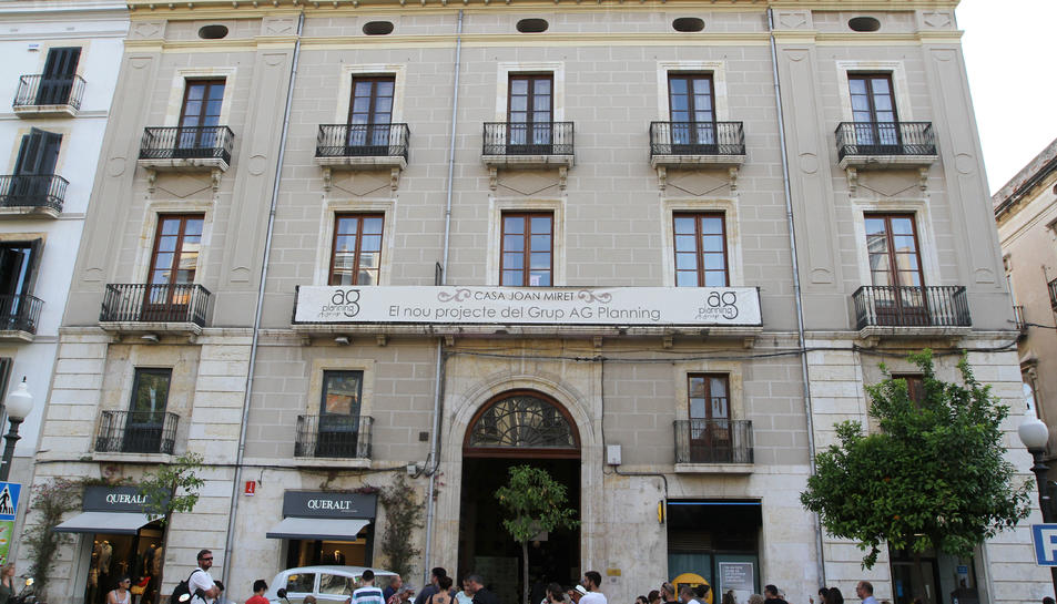 Inauguració Casa Joan Miret