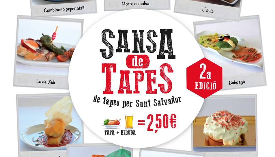 Aquest cap de setmana s'enceta la segona 'Sansa de Tapes'