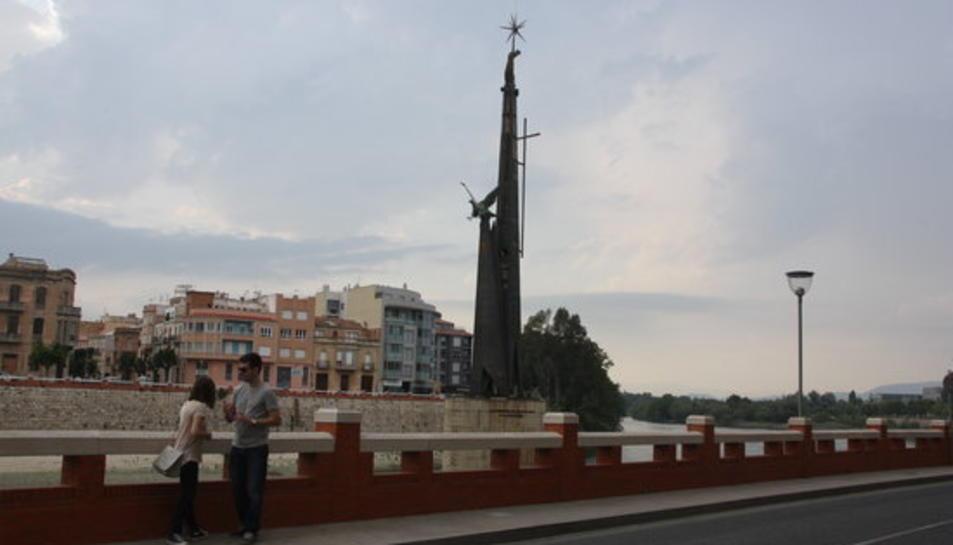 Monument franquista de Tortosa.