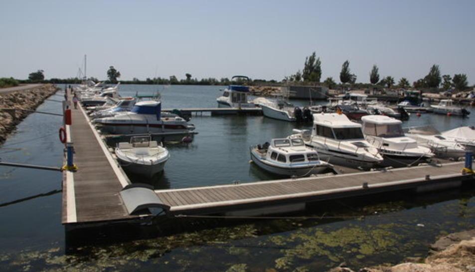 Pla obert del Port de Deltebre.