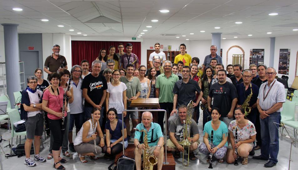 La banda La Unió protagonitzarà aquest dissabte un concert amb el grup 'Quico el Célio'.