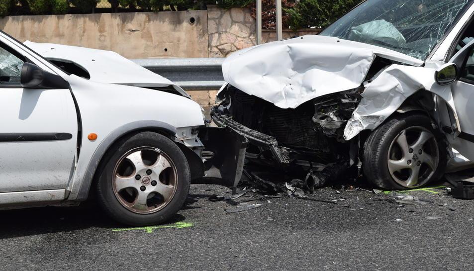 L'accident ha tingut lloc a la carretera nacional 340 a l'alçada de l'entrada de l'urbanització de Boscos.