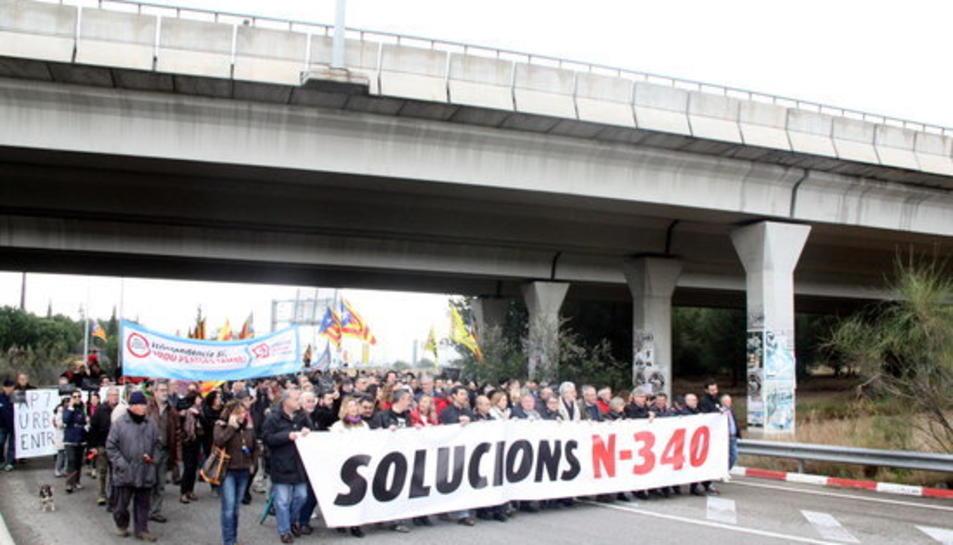 El passat mes de març es va celebrar una manifestació al Vendrell.