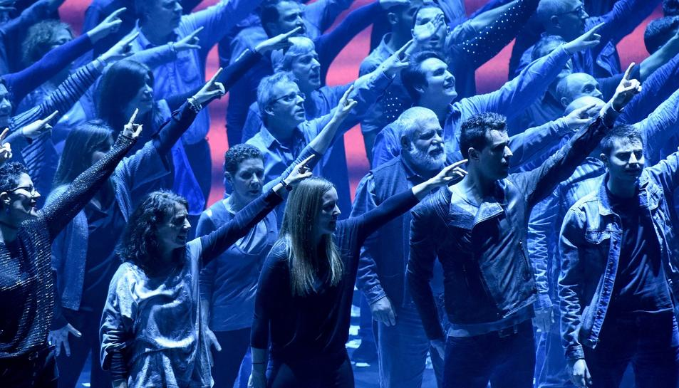 El Musical: Grans Èxits reuneix més de 180 cantants no professionals al Camp de Mart