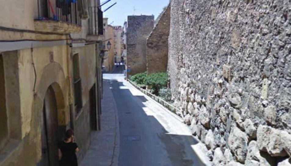 S'inicia la restauració de la muralla de Tarragona de la Baixada del Roser
