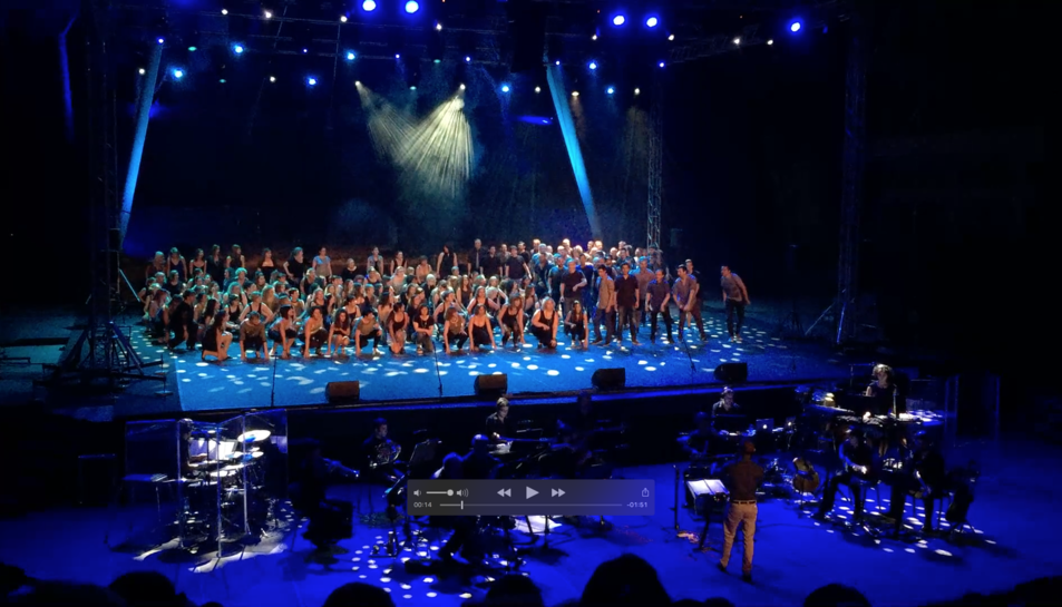 L'esdeveniment musical es va celebrar a l'Auditori del Camp de Mart.