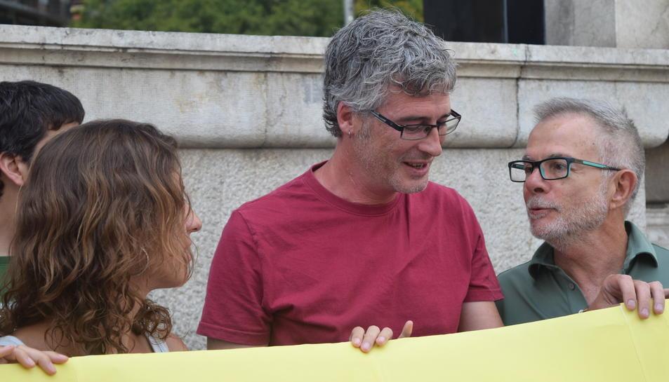 Sergi Saladié, durant la roda de premsa celebrada aquest matí.