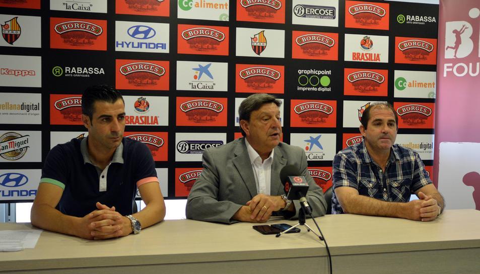 Ferran Asensio, Xavier Llastarri i Mingo Capafons