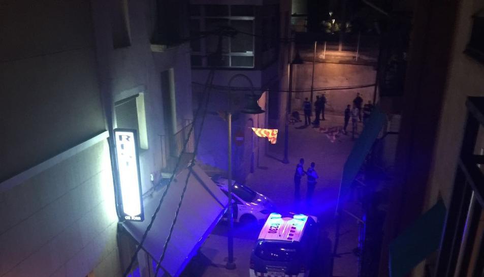 La baralla va tenir lloc al carrer Sant Andreu del Serrallo.