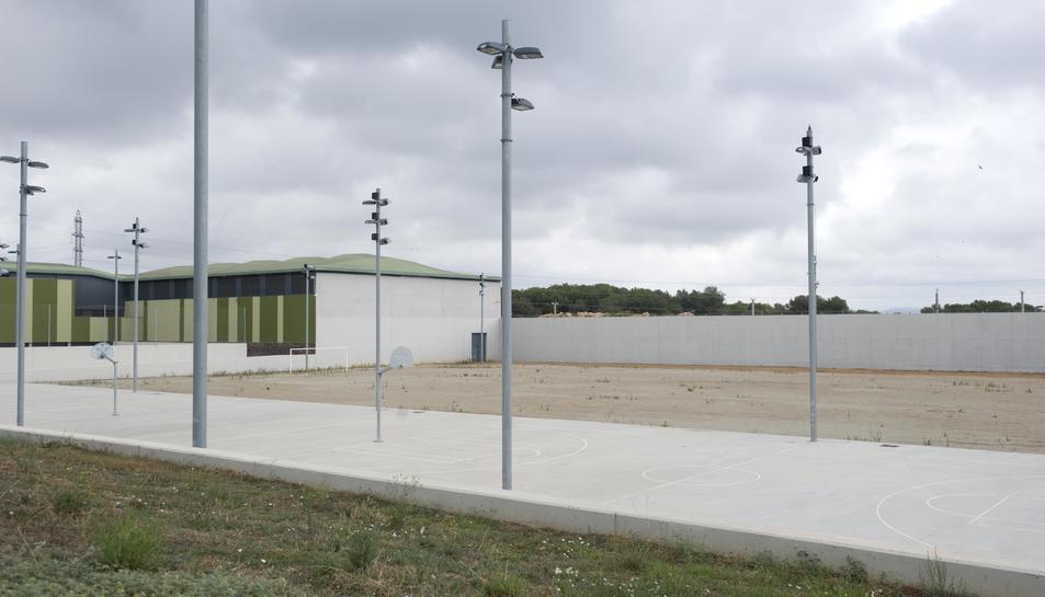 Imatge d'arxiu d'una de les zones de lleure del Centre Penitenciari de Mas Enric, al Catllar.