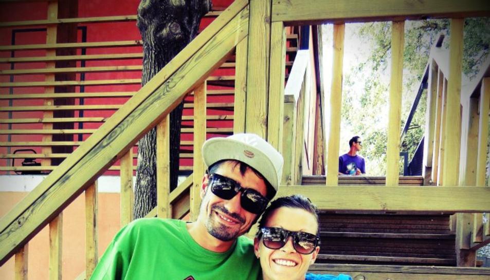 David Laguna i Anna Ricomà, la parella d'emprenedors.