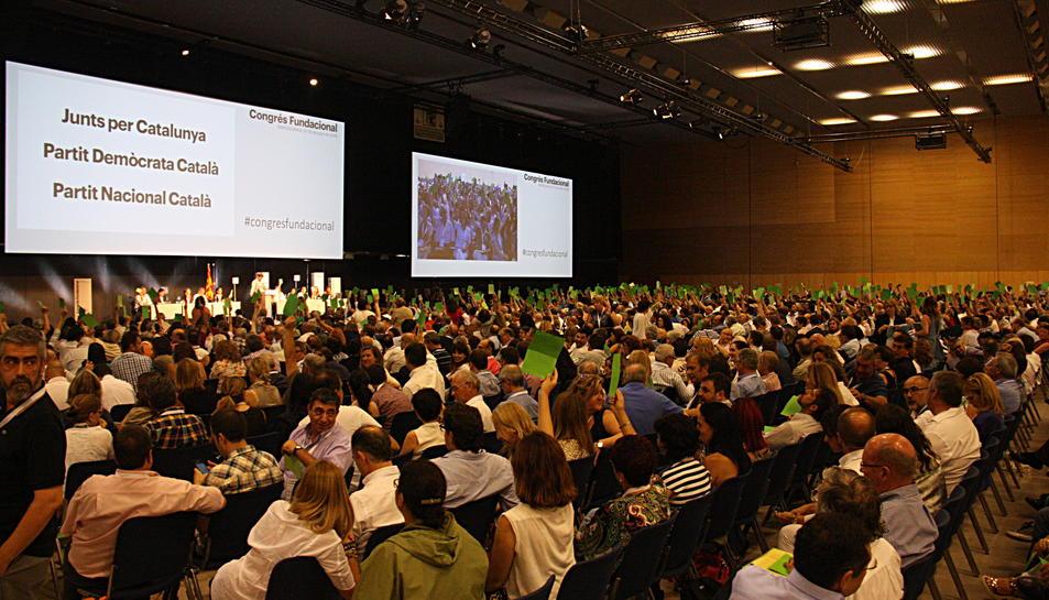 La nova CDC decideix que la formació es digui Partit Demòcrata Català