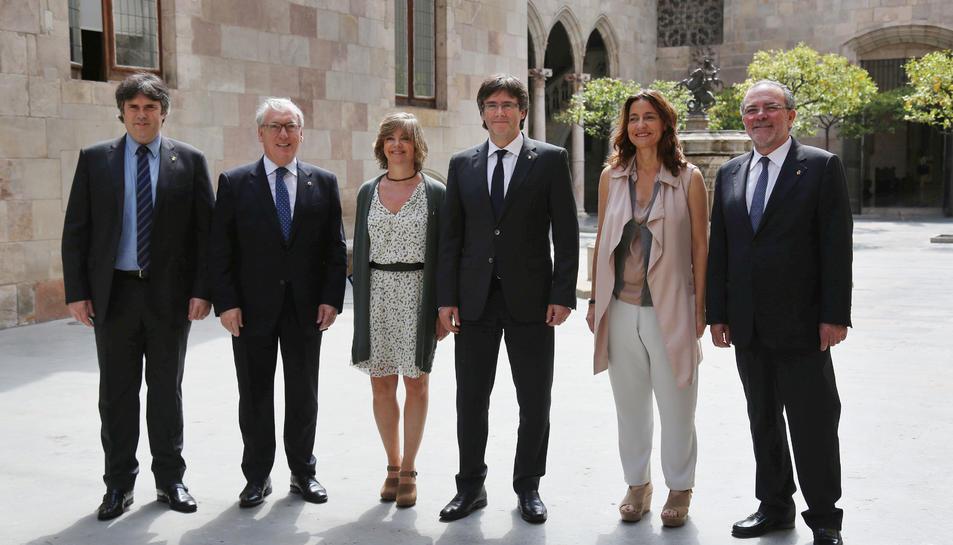 La Diputació de Tarragona signa un conveni amb la Generalitat per front a les necessitats financeres dels ens locals