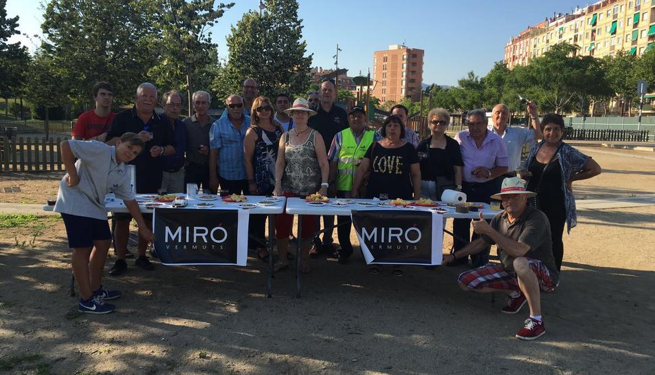 El Grup Motos Clàssiques de Reus beneeix els vehicles per Sant Cristòfol